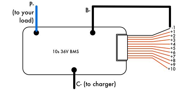 36V 10s Battery Management System (BMS) – VRUZEND DIY Battery KitVruzend