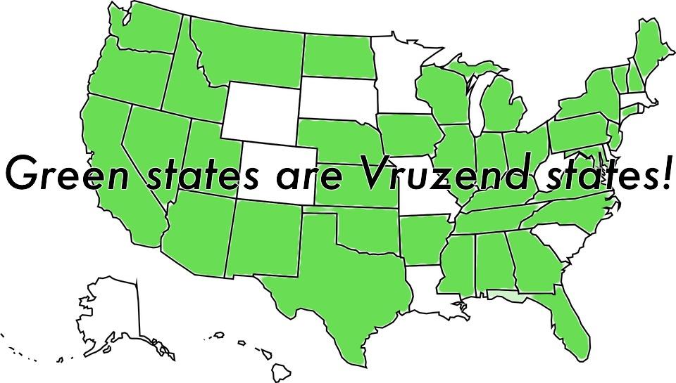 vruzend states